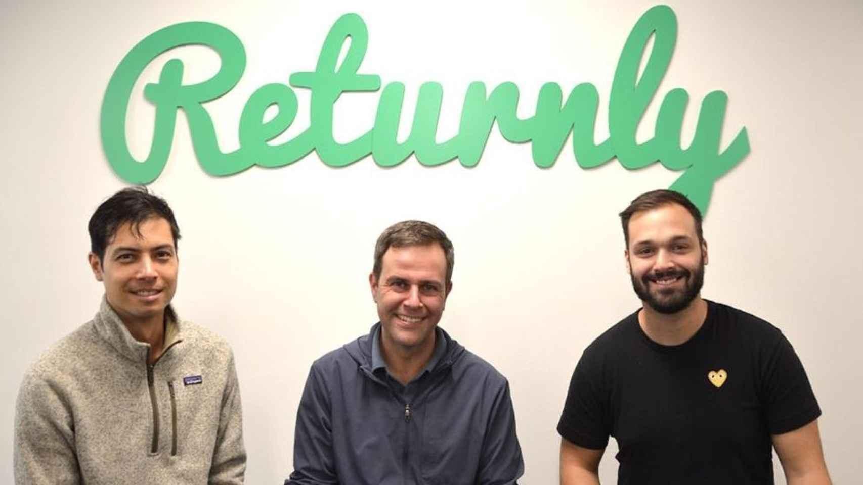Returnly, la 'start-up' del español Eduardo Villar.