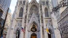 La catedral de St. Patrick en Nueva York.
