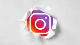 Agujero en Instagram.