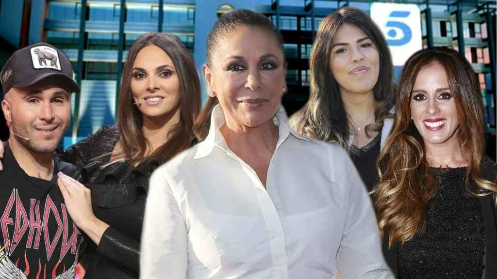 Isabel Pantoja, sus hijos, su sobrina y su nuera, todos han llenado sus arcas gracias al canal de Mediaset.