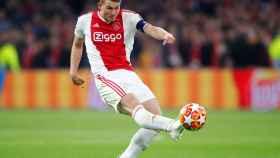 De Ligt con el Ajax.