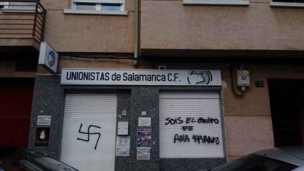 Ataque nazi a la sede de Unionistas