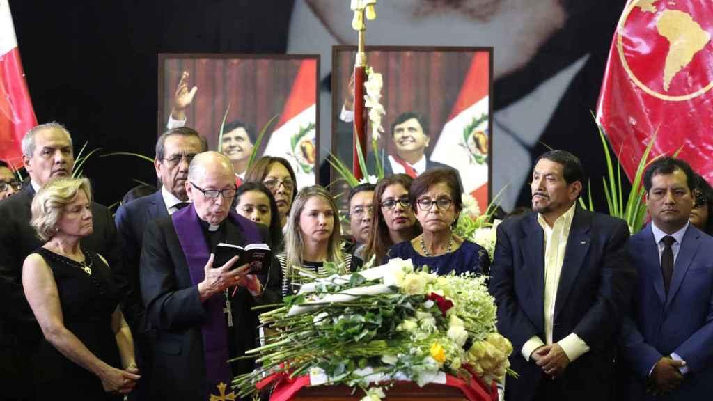 Funeral de Alan García este viernes en Lima