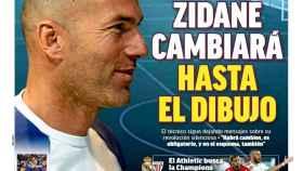 La portada de MARCA (21/04/2019)