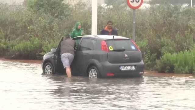 Inundaciones en Torrevieja.