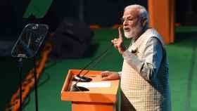 Modi, presidente de India, se juega la reelección en las urnas.