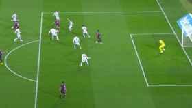 Indignación en la Real Sociedad por no anular el gol de Jordi Alba por fuera de juego
