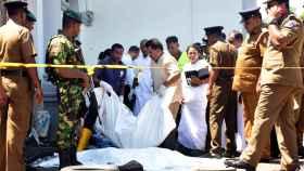 Varias víctimas, en uno de los puntos atacados.