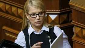 La ex primera ministra ucraniana Yulia Tomishenko.