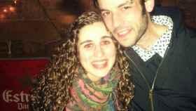Alberto y María, en una fotografía juntos hace unos cuantos años.