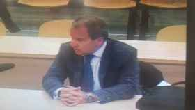Pedro Comín, jefe del grupo de inspección del Banco de España en grupo BFA.