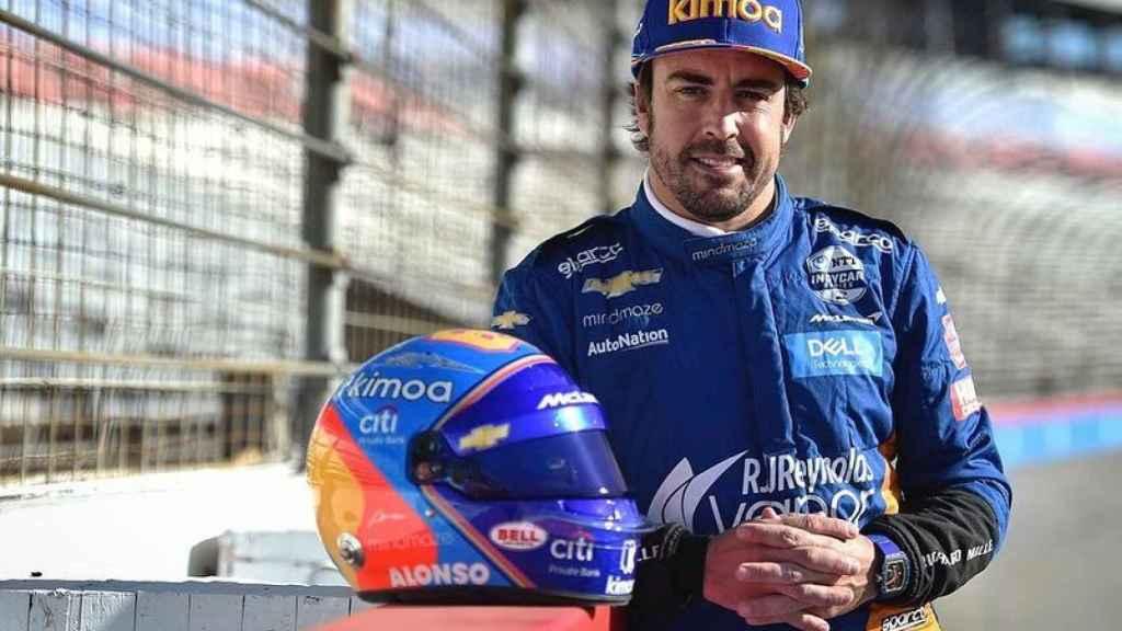 Fernando Alonso preparado para las 500 Millas de Indianápolis 2019