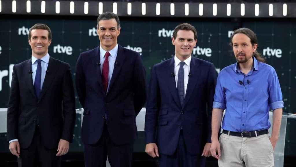 Audiencias: 'El Debate' arrasa con casi 9 millones, pero es el menos visto de la historia