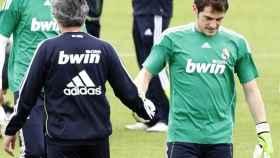 Mourinho y Casillas, en el Real Madrid
