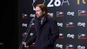 El candidato a la presidencia del Gobierno por Unidas Podemos, Pablo Iglesias.