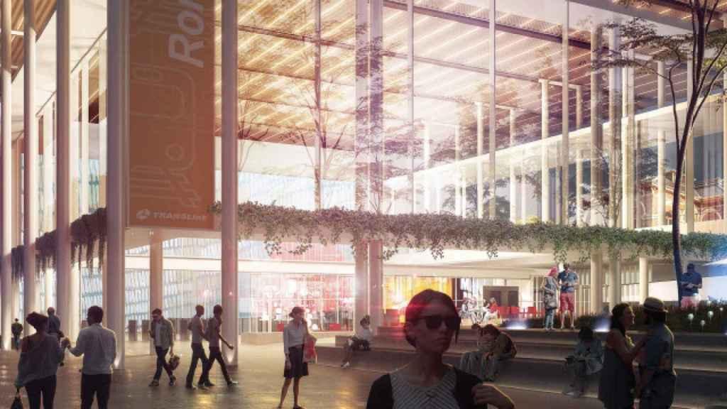Concepto de una de las estaciones del proyecto Cross River Rail.