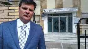 Germán Bernal, abogado de los padres del menor afectado por las vejaciones de su profesor de música.