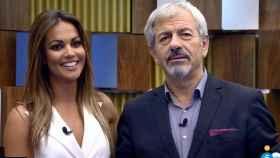 Lara Álvarez y Carlos Sobera.