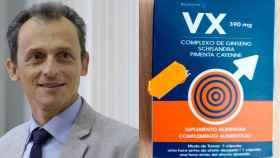 Pedro Duque y el medicamento retirado, VX Cápsulas.