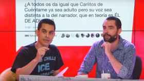 Los humoristas David Suárez y Dani Mateo.