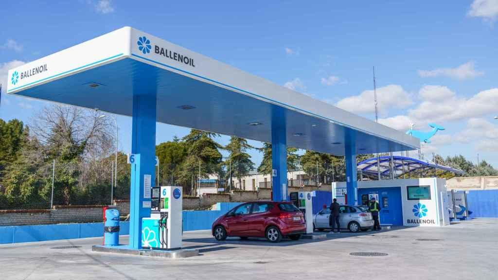 Una estación de servicio de Ballenoil.