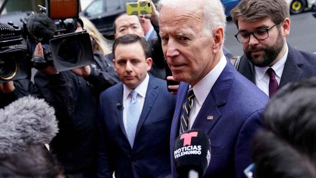 El ex vicepresidente Joe Biden.