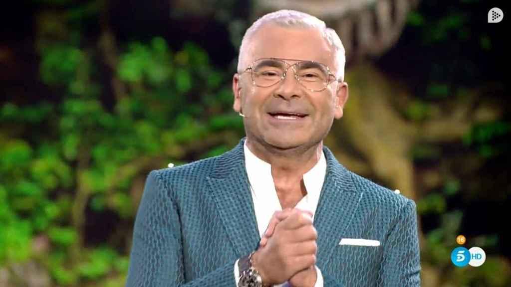 Jorge Javier Vázquez, justo al entrar al plató de 'Supervivientes'.