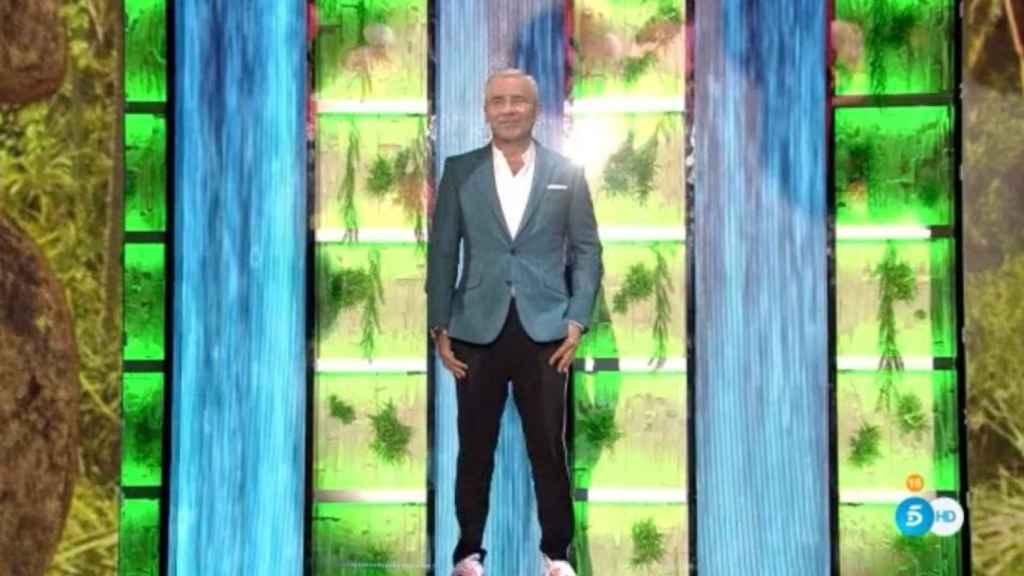 Jorge Javier Vázquez regresa a la televisión tras sufrir un ictus.
