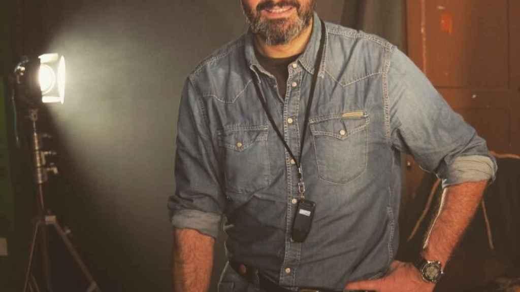 Antonio Pardo Sebastián ha impartido un taller para niños en Madrid .