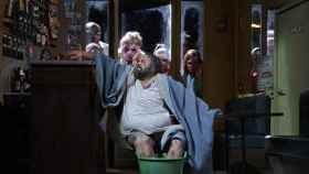 Roberto de Candia, en el papel de Falstaff, en el Teatro Real.