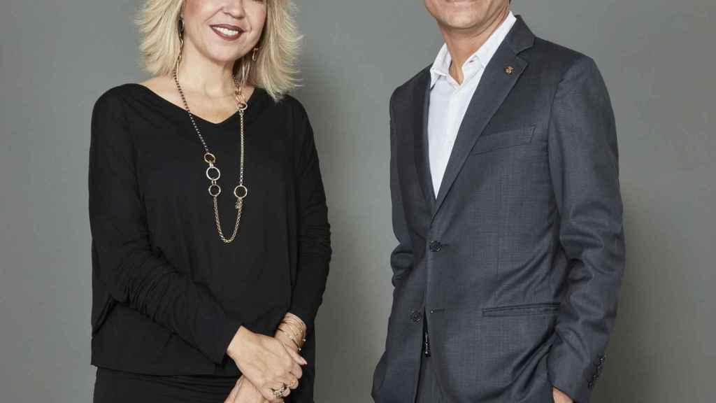 Alba Tous y Carlos Soler-Duffo, presidenta y consejero delegado de Tous.