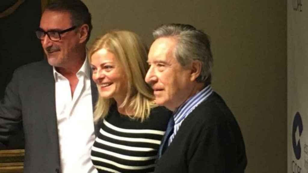 Carlos Herrera, Paloma Tortajada e Iñaki Gabilondo, en una imagen de archivo.