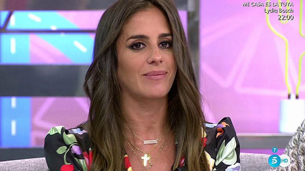 Anabel Pantoja en una de sus últimas tardes en 'Sálvame'.