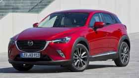 El Mazda CX-3, del segmento SUV, ha vendido desde enero 1.603 unidades