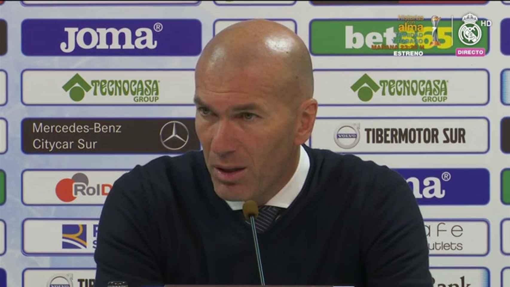 Zidane: Brahim me gusta, no tiene miedo de jugar
