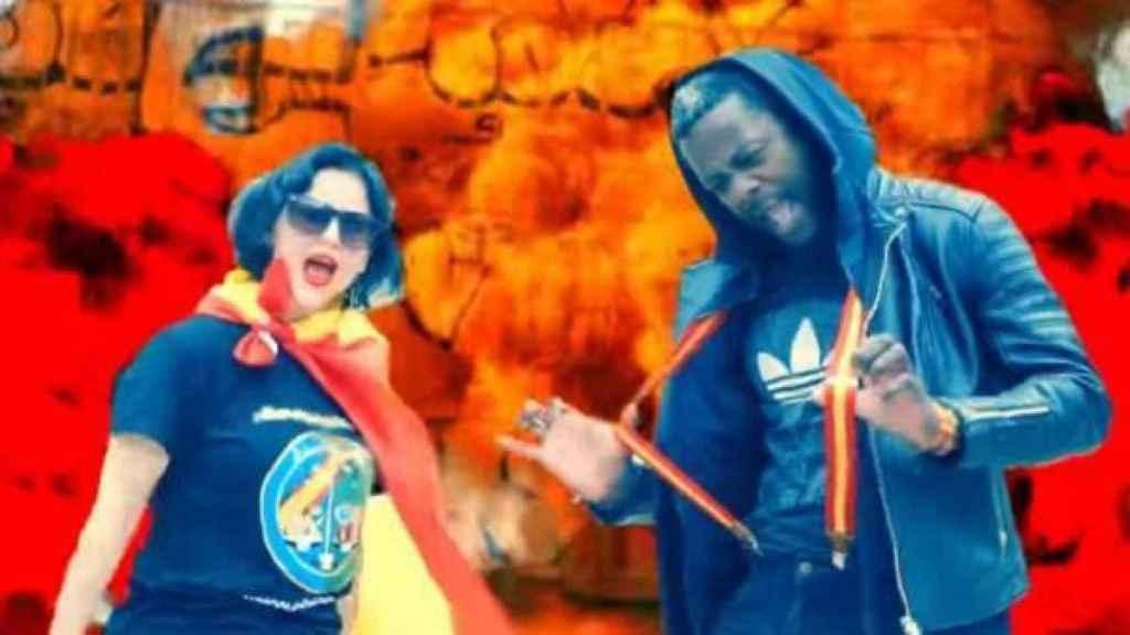 'Superfachas', el rap Sofía Rincón y Bertrand Ndongo en apoyo a Vox.