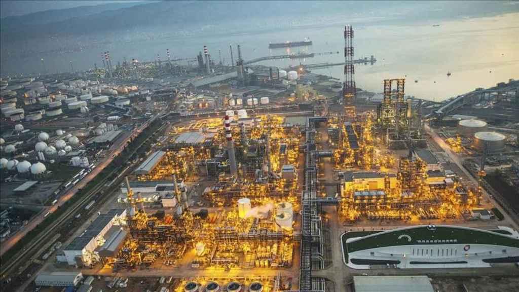 Una refinería de Tupras.