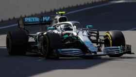Bottas, en el GP de Azerbaiyán