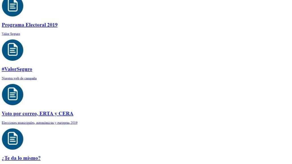 La web del PP, con problemas de acceso en la jornada de reflexión.