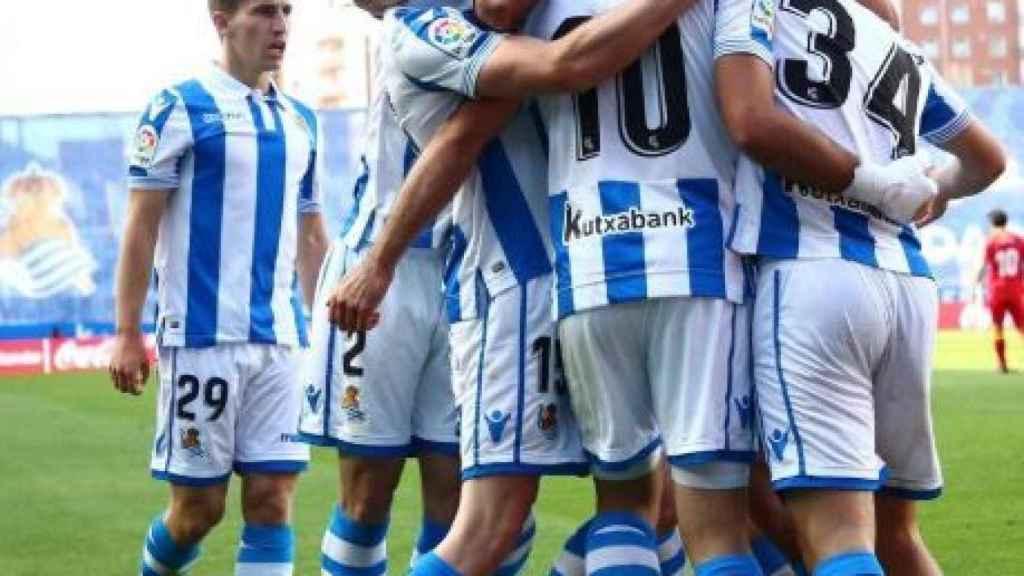 Real Sociedad-Getafe. Foto: Twitter (@RealSociedad)