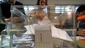 Urnas electorales.