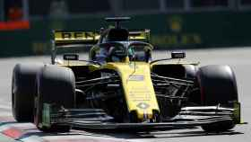 Ricciardo, en el Gran Premio de Azerbaiyán de la Fórmula 1
