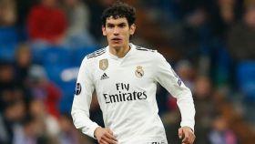 Jesús Vallejo, en un partido del Real Madrid. Foto: Instagram (@jesusvallejo1997)