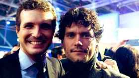 Pablo Casado y Miguel Abellán en una foto de Instagram.