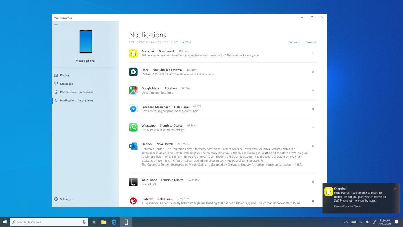 windows notificaciones 2