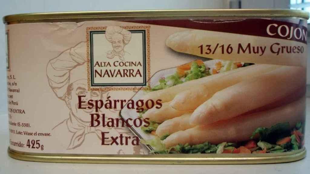 Lata de Alta Cocina Navarra, marca sentenciada. Foto: Reyno Gourmet