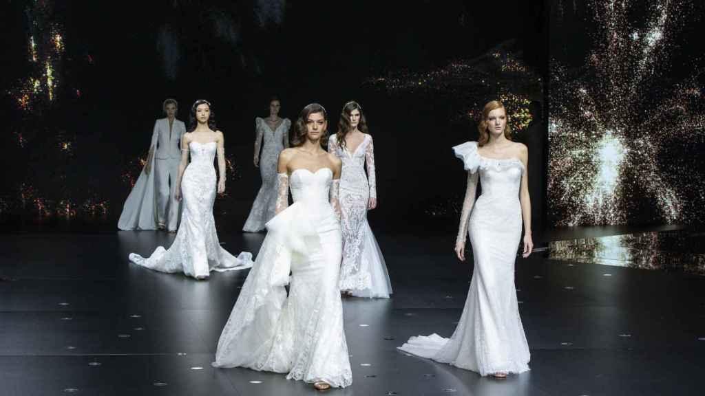 La Bridal Fashion Week pone fin a la semana nupcial de la moda.