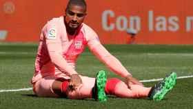 Boateng, con el Barcelona