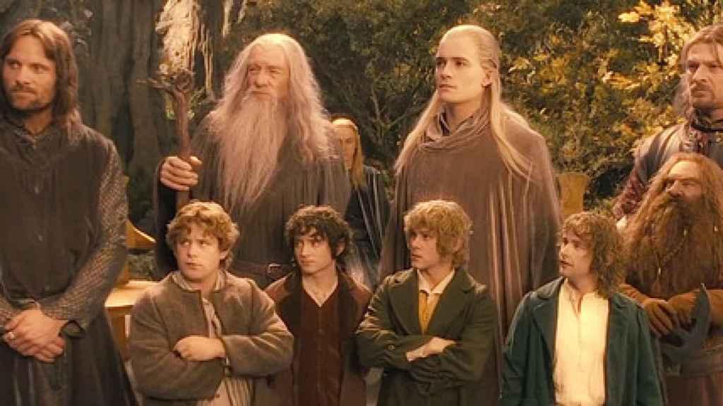 Fotograma de 'El Señor de los Anillos: La Comunidad del Anillo'.