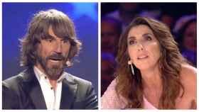 Santi Millán y Paz Padilla en la final de 'Got Talent' en un montaje de JALEOS.